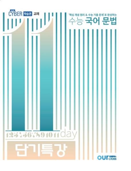 수능 국어 문법 11일 단기특강 (2020년)